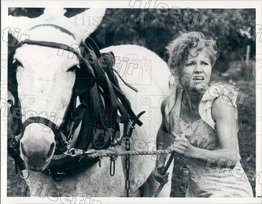 1986 Oscar Winning Actress Sally Field in Places in the Heart Press Photo adt351 - Historic Images
