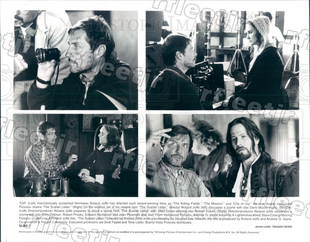 Undated Actors Demi Moore, Robert Duvall, Gary Oldman Press Photo adt387 - Historic Images