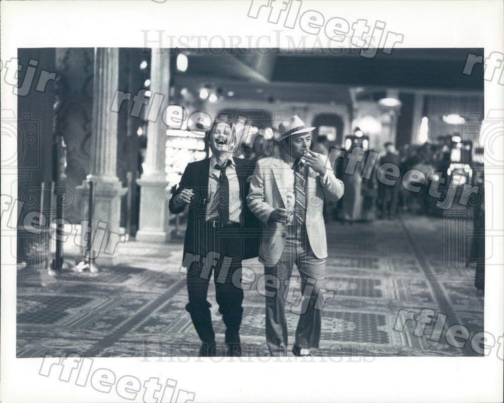 Undated Oscar Winning Actor Jon Voight & Burt Young in Film Press Photo adu151 - Historic Images