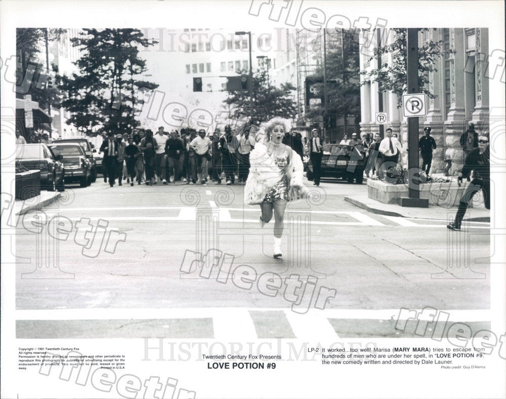 1991 American Actress Mary Mara in Film Love Potion #9 Press Photo adu245 - Historic Images