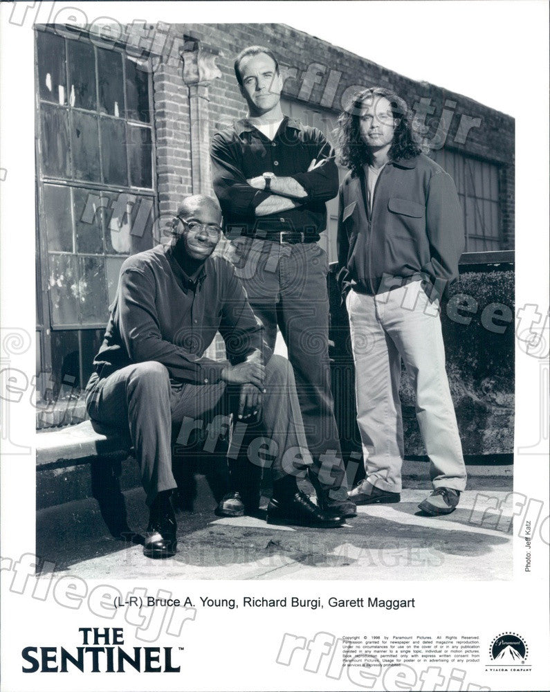 1998 Actors Bruce A. Young, Richard Burgi, Garett Maggart Press Photo adu293 - Historic Images