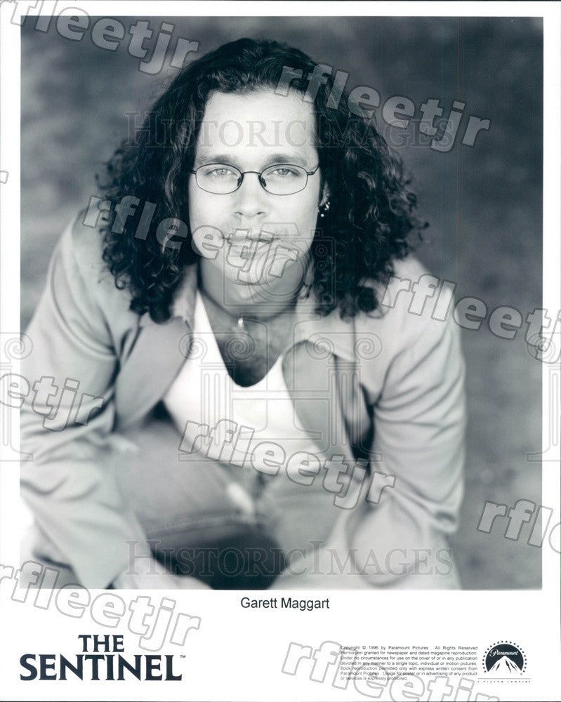 1996 Hollywood Actor Garett Maggart in Film The Sentinel Press Photo adu299 - Historic Images