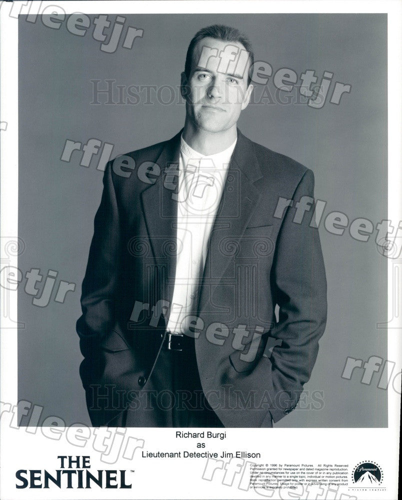 1996 Hollywood Actor Richard Burgi in Film The Sentinel Press Photo adu303 - Historic Images