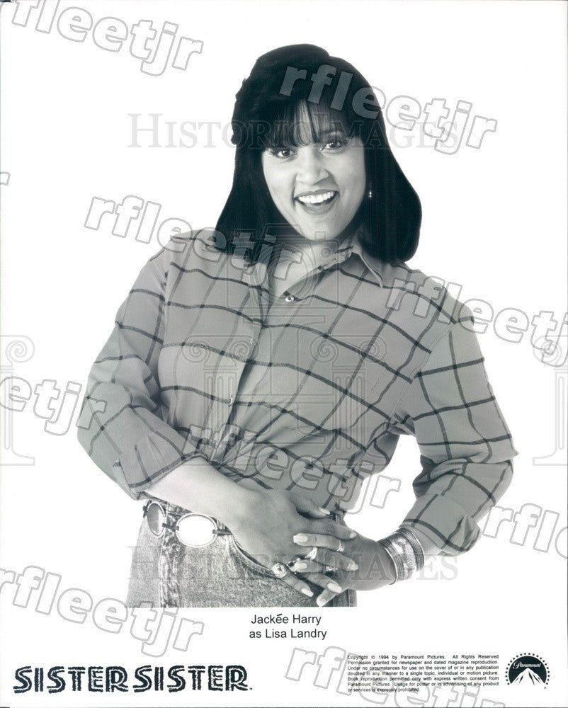 1994 Actress Jackee Harry on TV Show Sister, Sister Press Photo adu353 - Historic Images