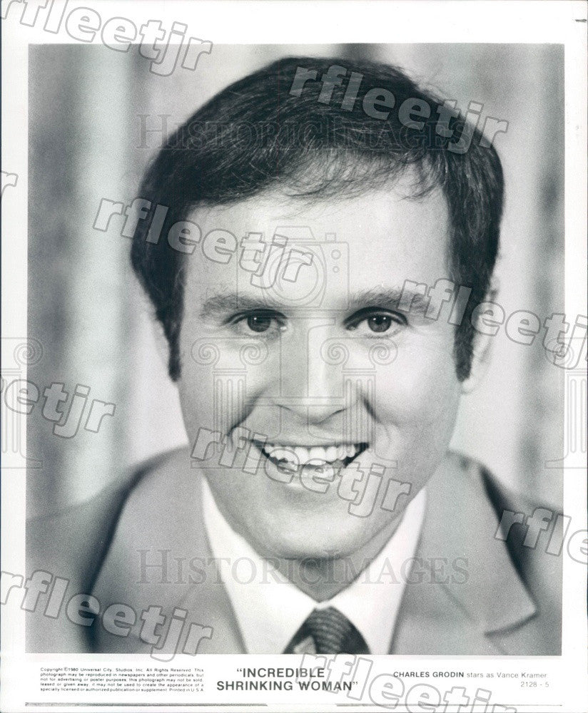 1980 Actor Charles Grodin in Film Incredible Shrinking Woman Press Photo adu463 - Historic Images