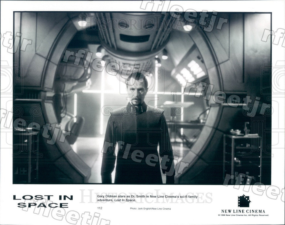 1998 Hollywood Actor Gary Oldman in Film Lost In Space Press Photo adu47 - Historic Images