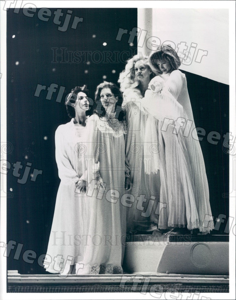 1992 Actors Swoosie Kurtz, Patricia Kalember, Sela Ward Press Photo adu515 - Historic Images