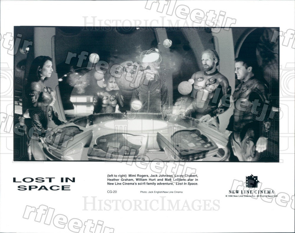 1998 Actors Mimi Rogers, Jack Johnson, Lacey Chabert Press Photo adu53 - Historic Images