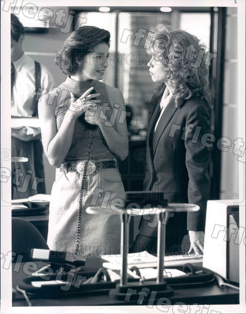 1991 Actors Julianne Phillips & Sela Ward on TV Show Sisters Press Photo adu531 - Historic Images