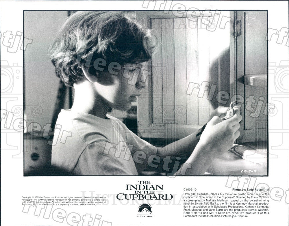 1995 Actor Hal Scardino in Film The Indian In The Cupboard Press Photo adu539 - Historic Images
