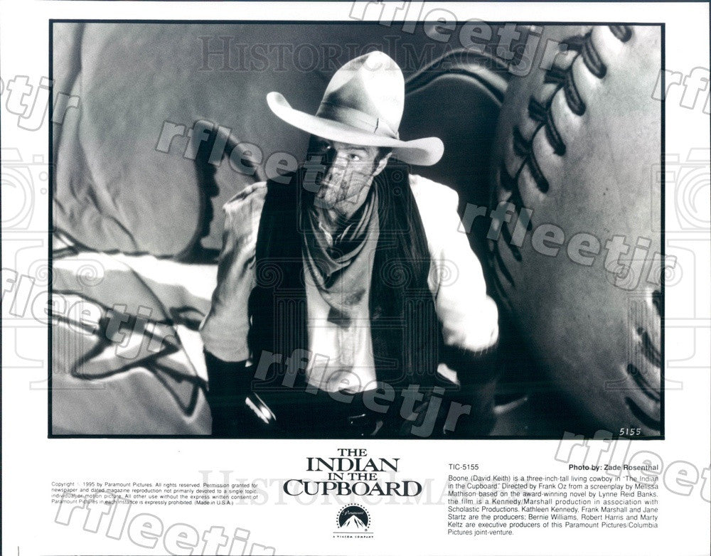 1995 Actor David Keith in Film The Indian In The Cupboard Press Photo adu541 - Historic Images