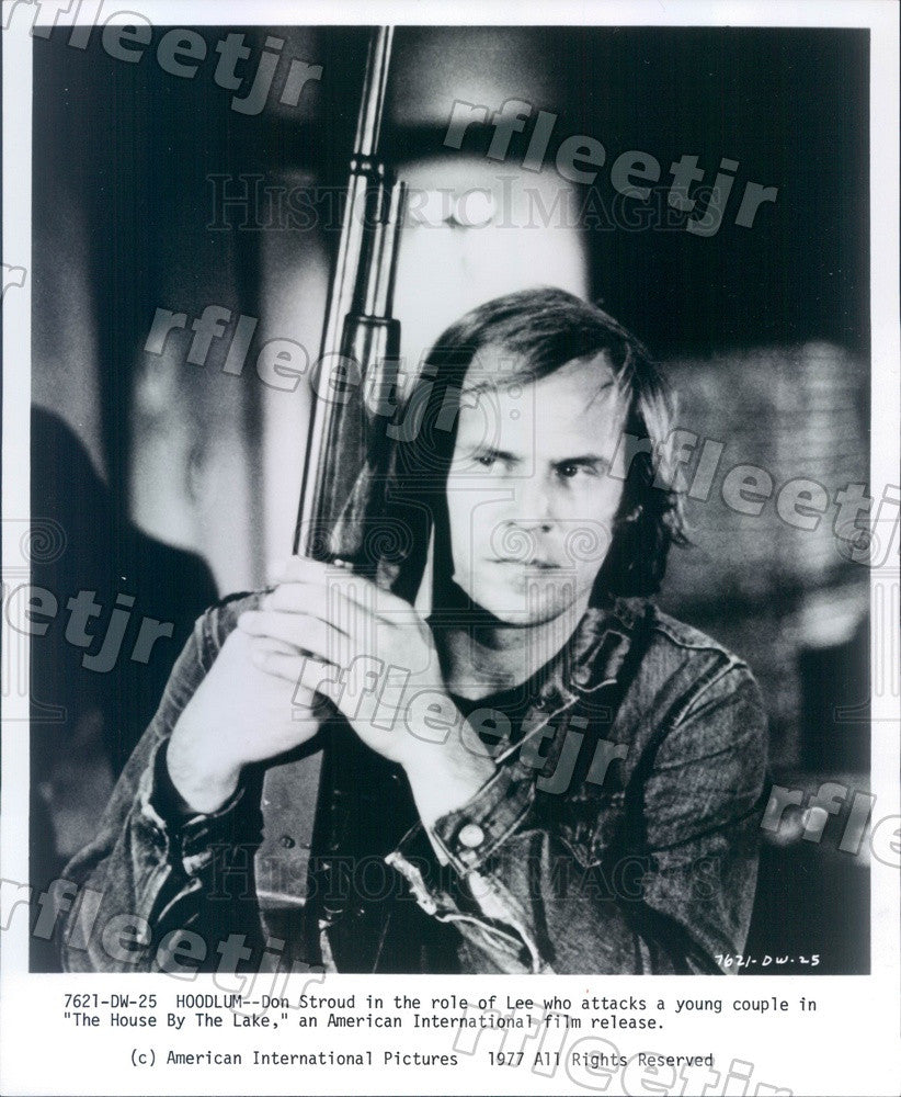 1977 Actor Don Stroud in Film The House By The Lake Press Photo adu555 - Historic Images