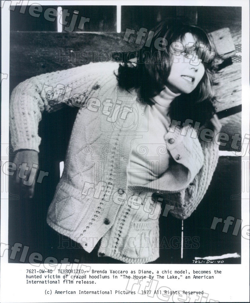 1977 Actress Brenda Vaccaro in Film The House By The Lake Press Photo adu559 - Historic Images