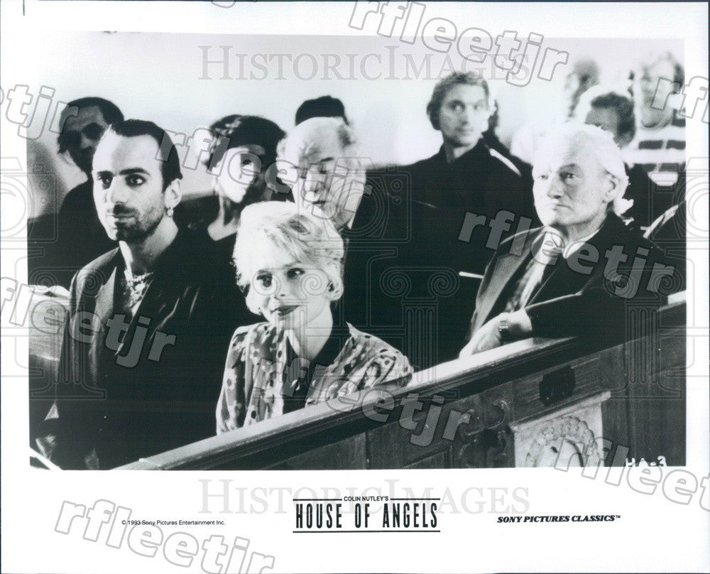 1993 Actors Helena Bergstrom, Rikard Wolff, Ernst Gunther Press Photo adu565 - Historic Images