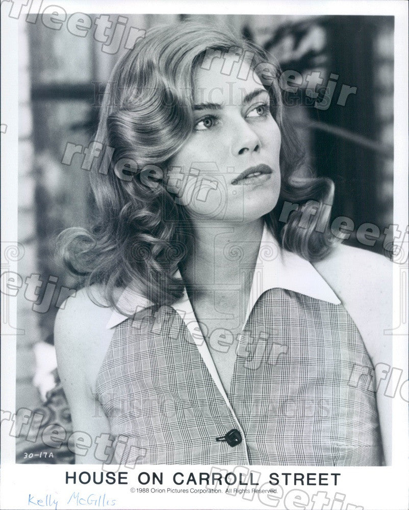 1988 Actress Kelly McGillis in Film House on Carroll Street Press Photo adu581 - Historic Images