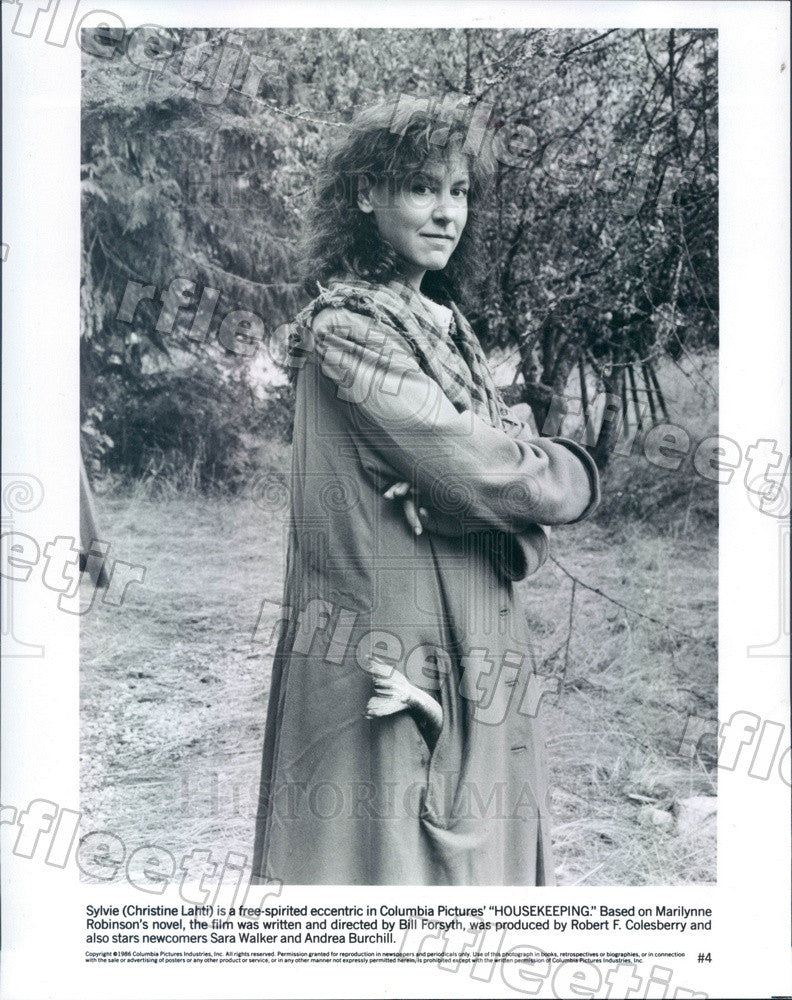 1986 Oscar, Emmy Winning Actress Christine Lahti in Film Press Photo adu583 - Historic Images