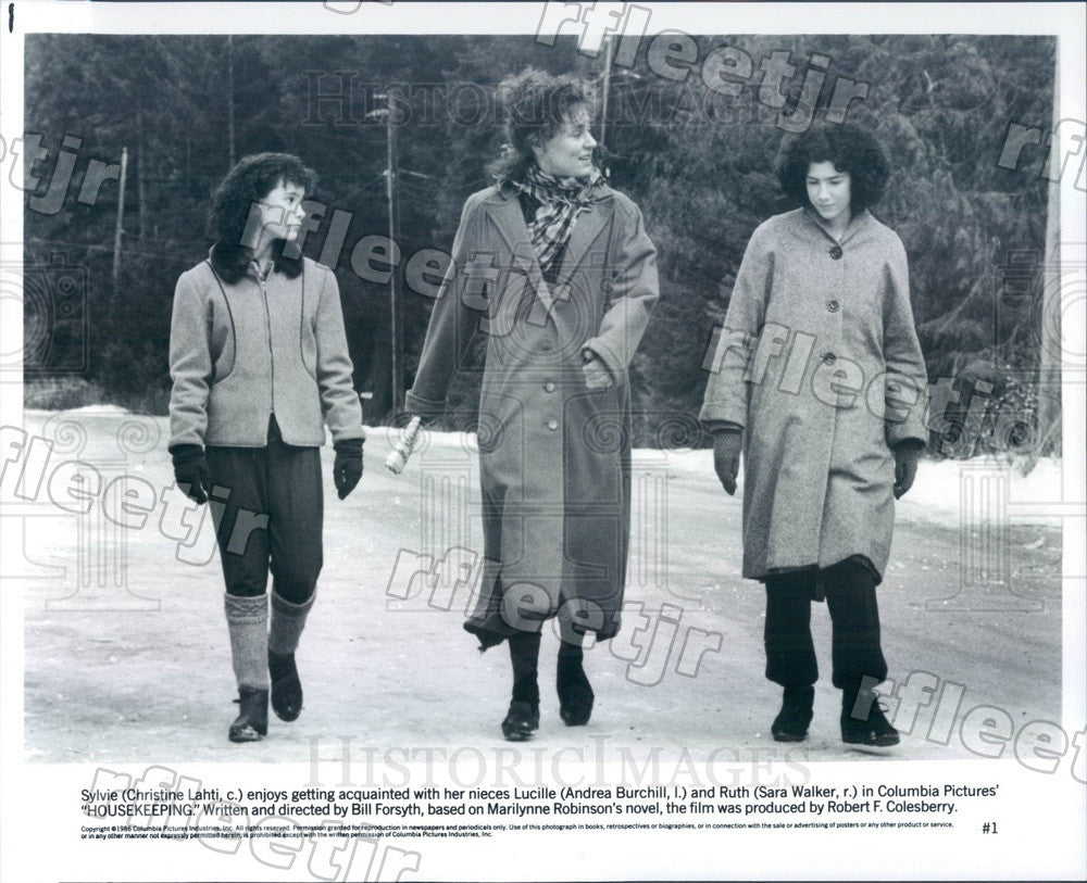 1986 Actresses Christine Lahti, Andrea Burchill, Sara Walker Press Photo adu587 - Historic Images