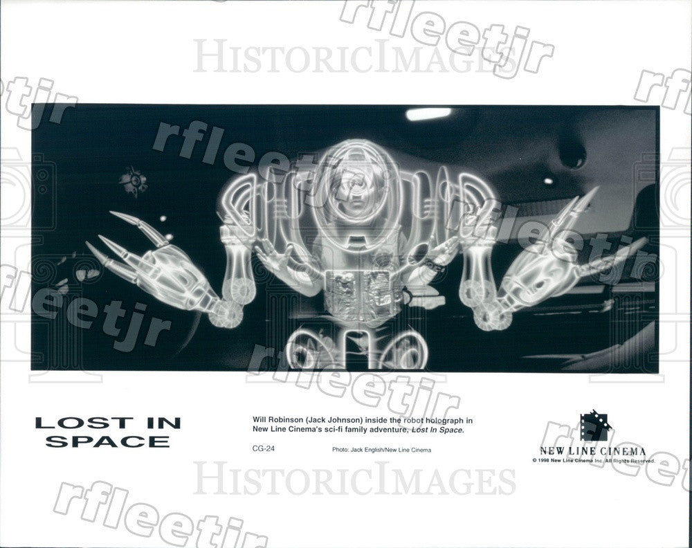 1998 Actor Jack Johnson in Film Lost In Space Press Photo adu59 - Historic Images
