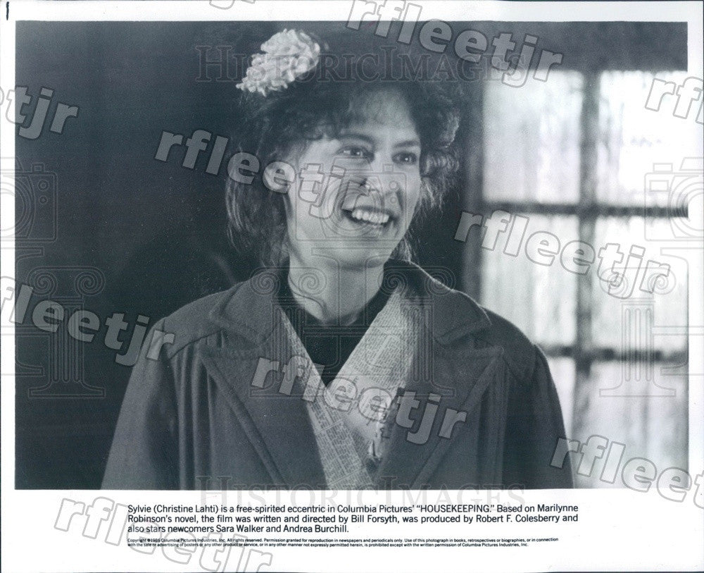 1986 Oscar, Emmy Winning Actress Christine Lahti in Film Press Photo adu591 - Historic Images