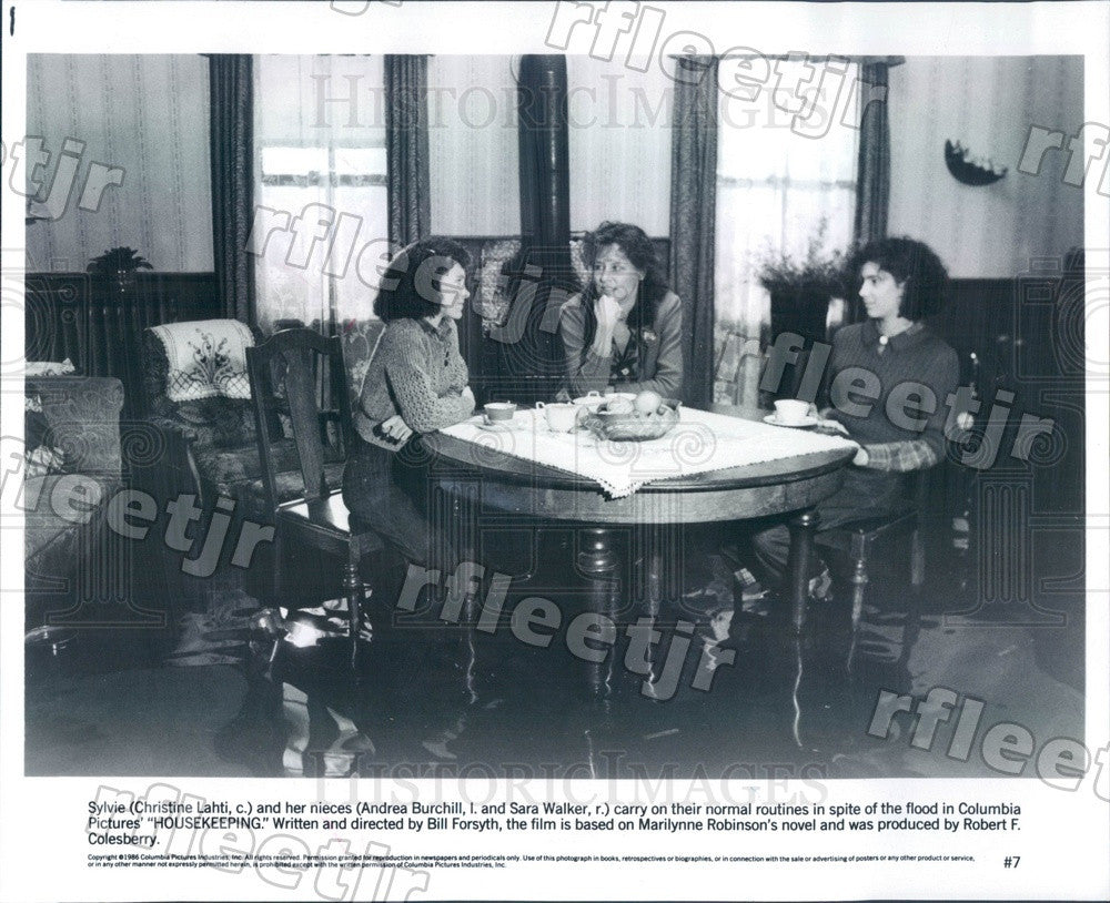 1986 Actresses Christine Lahti, Andrea Burchill, Sara Walker Press Photo adu593 - Historic Images