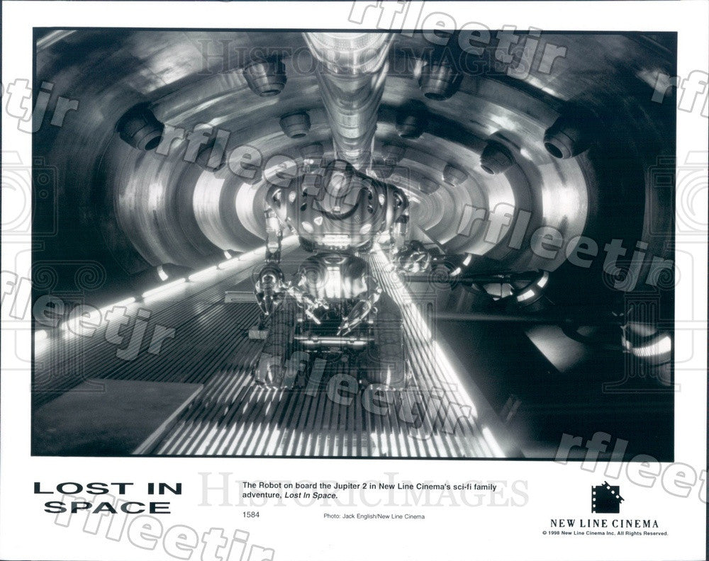 1998 The Robot On Board Jupiter 2 in Film Lost In Space Press Photo adu61 - Historic Images