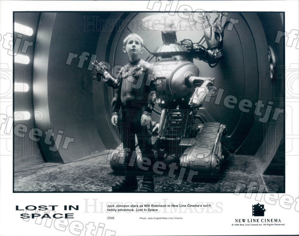 1998 Actor Jack Johnson in Film Lost In Space Press Photo adu63 - Historic Images