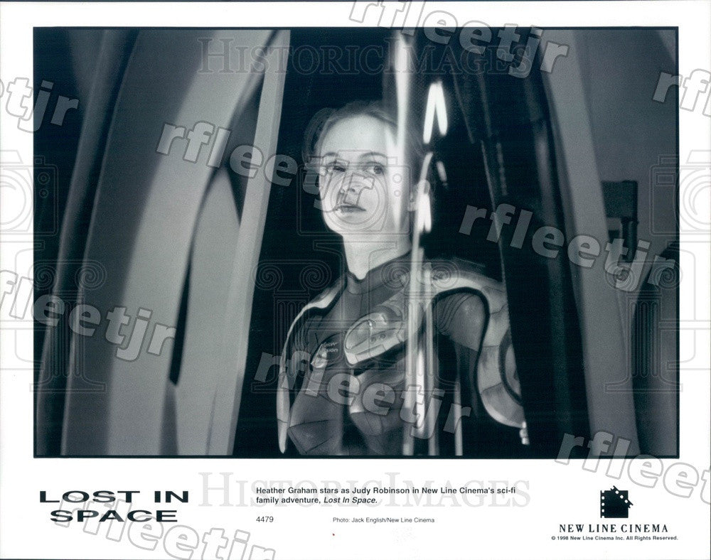 1998 Hollywood Actress Heather Graham in Film Lost In Space Press Photo adu65 - Historic Images