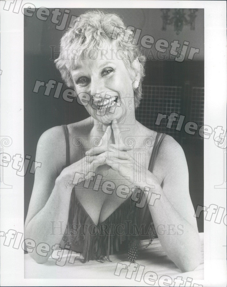 Undated Oscar, Emmy Winning Actress Cloris Leachman Press Photo adv103 - Historic Images
