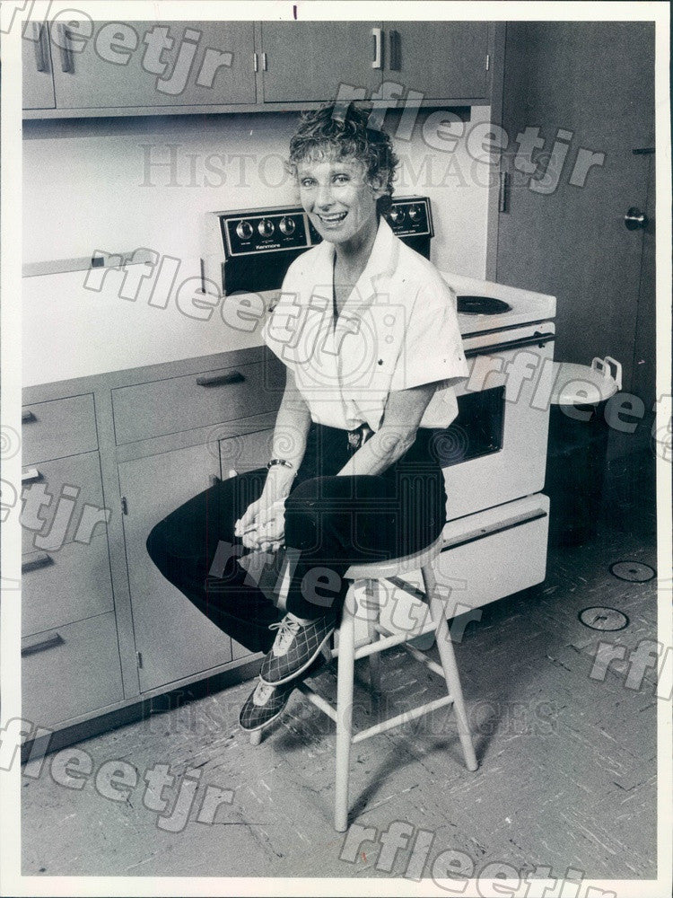 1981 Oscar, Emmy Winning Actress Cloris Leachman Press Photo adv111 - Historic Images