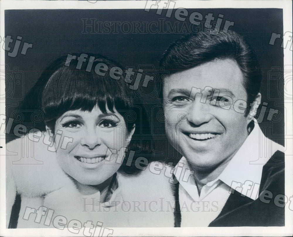 1968 Emmy Winning Actors, Singers Steve Lawrence, Eydie Gorme Press Photo adv117 - Historic Images