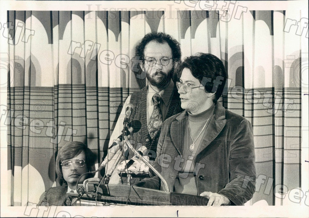 1977 Chicago, IL Yule Connection Consultants William Kessell Press Photo adv149 - Historic Images