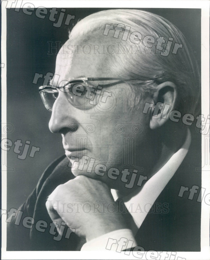 1973 German Conductor Ferdinand Leitner Press Photo adv159 - Historic Images