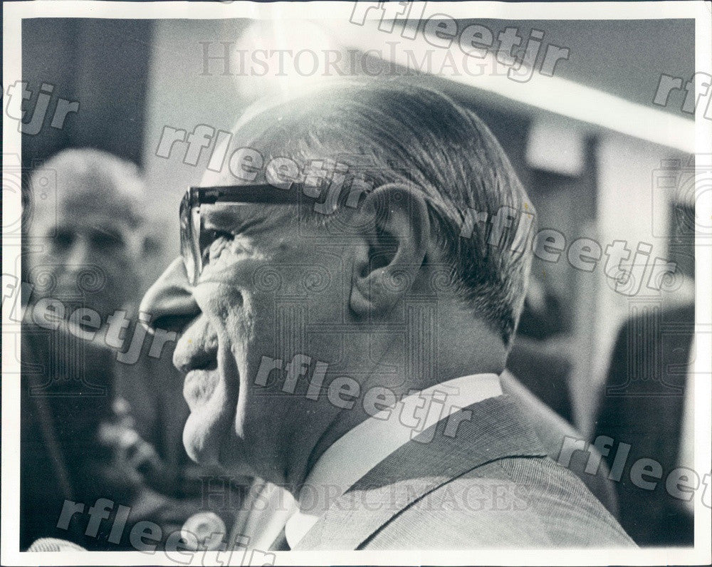 1966 Chicago, IL Frank Chesrow, Sanitary District President Press Photo adv19 - Historic Images