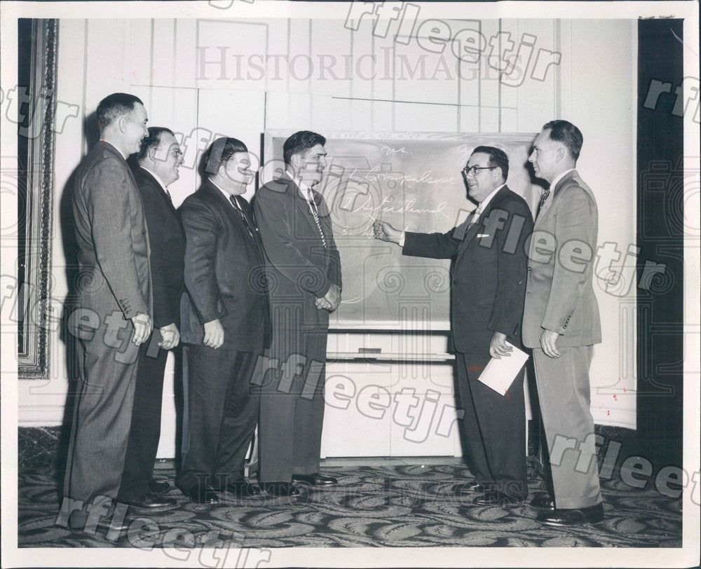 1957 Chicago, IL Cook County Sheriff Joseph Lohman Press Photo adv225 - Historic Images