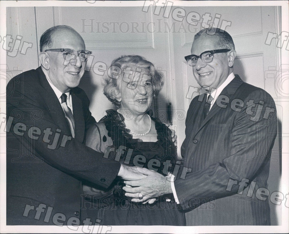 1963 Vatican City Princess Rosvilde Ottaviani, Frank Chesrow Press Photo adv25 - Historic Images
