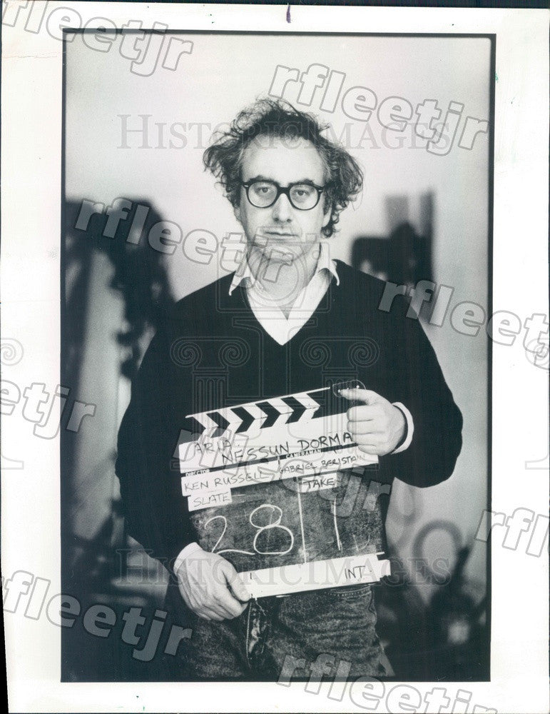 1988 Scottish Film Producer Don Boyd Press Photo adv307 - Historic Images