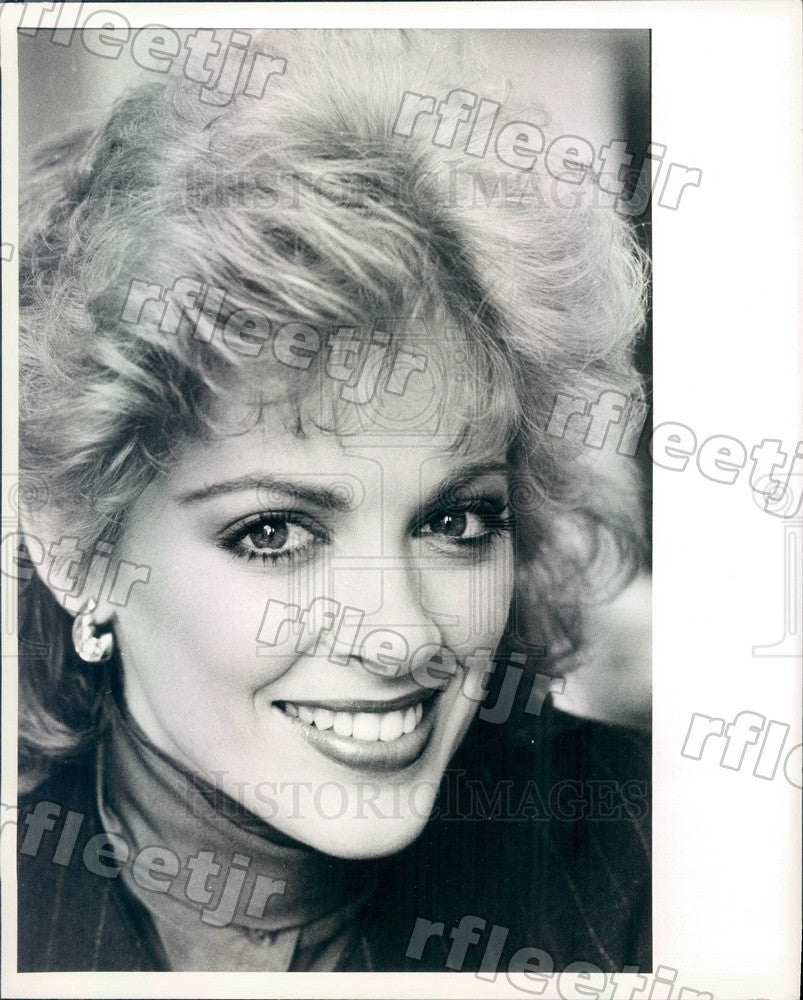 1984 Miss Florida Kimberly Anne Boyce Press Photo adv319 - Historic Images