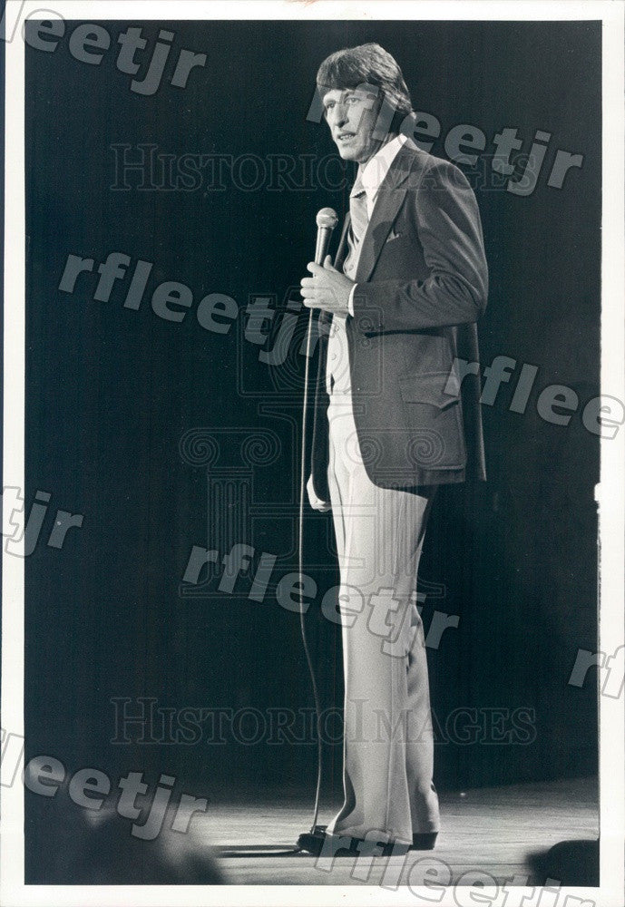 1980 Comedian Jerry Dye Press Photo adv351 - Historic Images