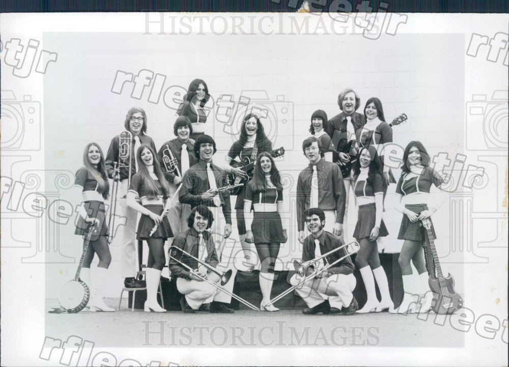 1974 Musicians The Edwardians Press Photo adv355 - Historic Images