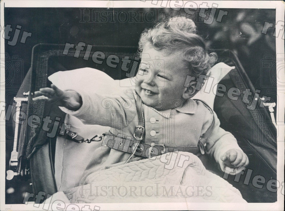 1936 England Prince Edward, Son of Duke & Duchess of Kent Press Photo adv357 - Historic Images
