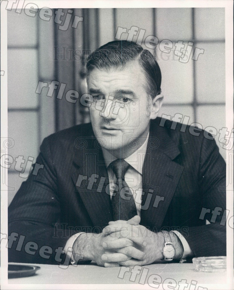 1972 Harvard University President Derek Bok Press Photo adv399 - Historic Images