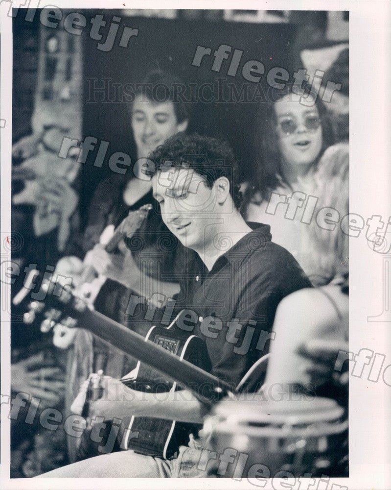 1992 Playwright, Singer, Songwriter, Billy Boesky Press Photo adv423 - Historic Images