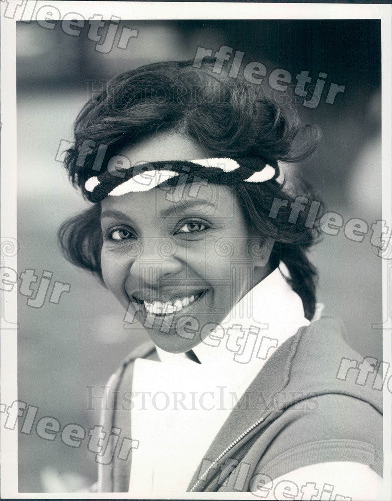 1985 Grammy Winning Soul Singer Gladys Knight Press Photo adv495 - Historic Images