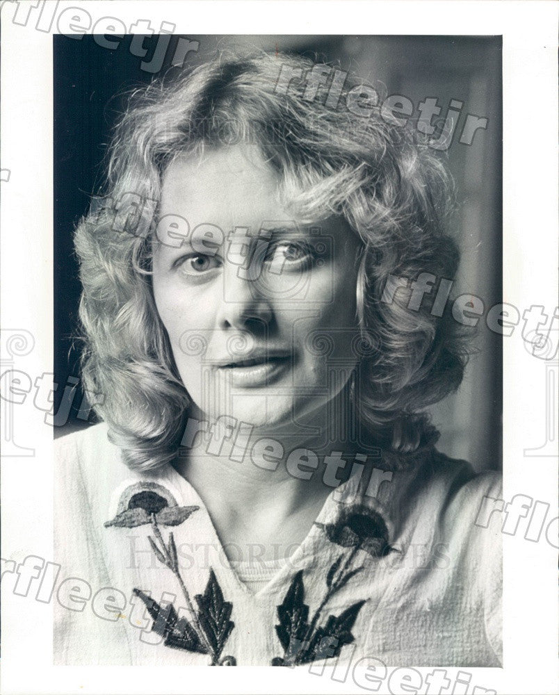1977 Emmy Winning Actress Shirley Knight Press Photo adv499 - Historic Images