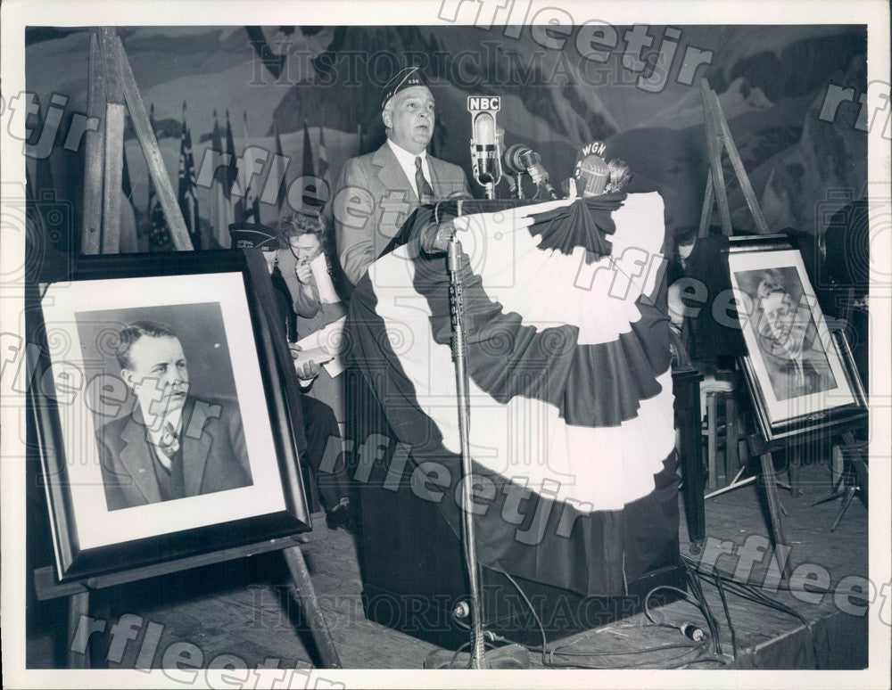 Undated Chicago Sun Publisher Marshall Field Press Photo adv563 - Historic Images
