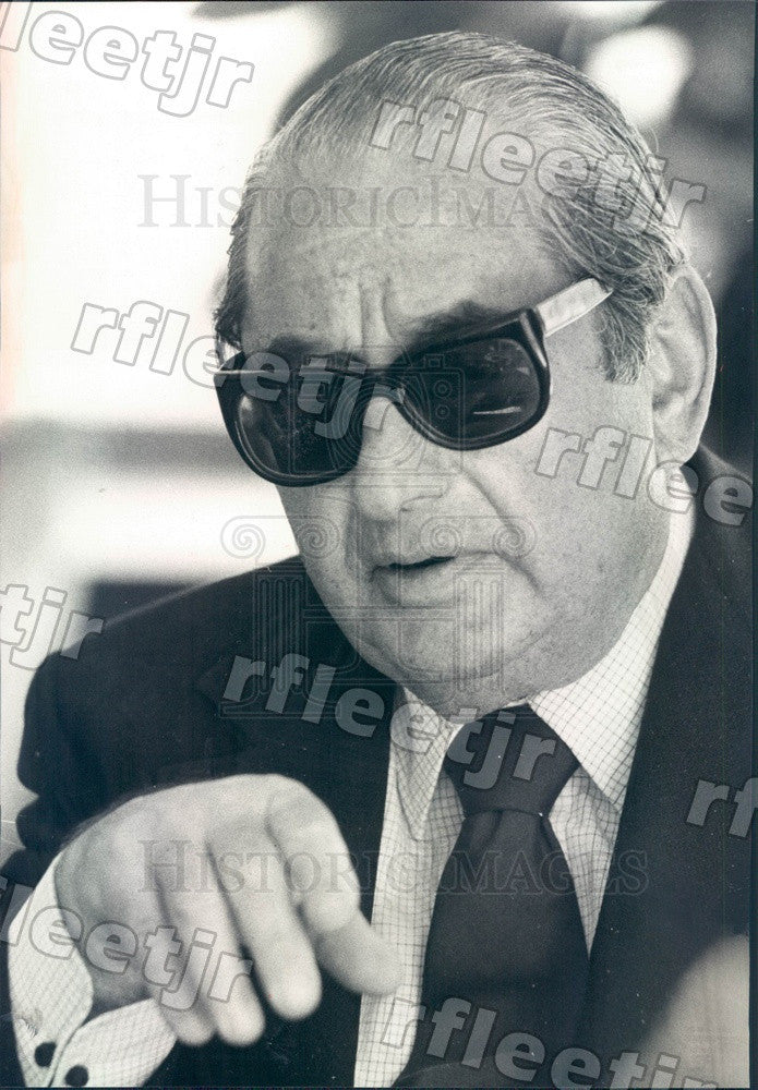 1977 Film Producer Joseph E Levine Press Photo adv67 - Historic Images