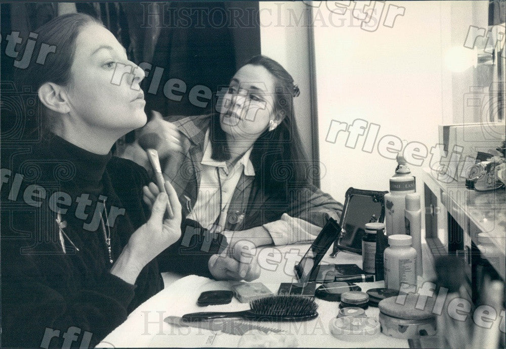 1991 Actresses Jane Alexander & Mary Layne Press Photo adv85 - Historic Images