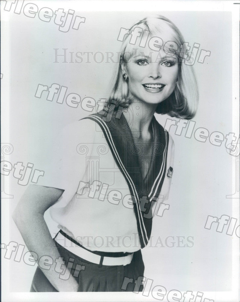 1986 Actress Patricia Klous on TV Show Love Boat Press Photo adw1 - Historic Images