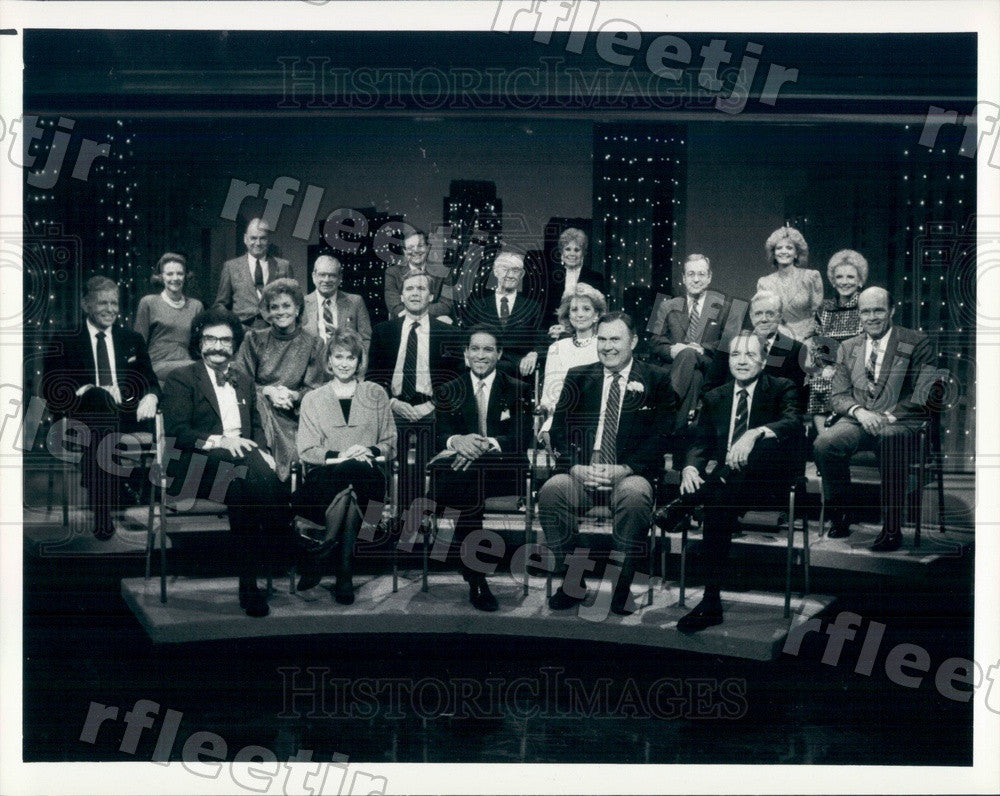1986 NBC Today Show Anchors & Contributors Gene Shalit Press Photo adw1011 - Historic Images