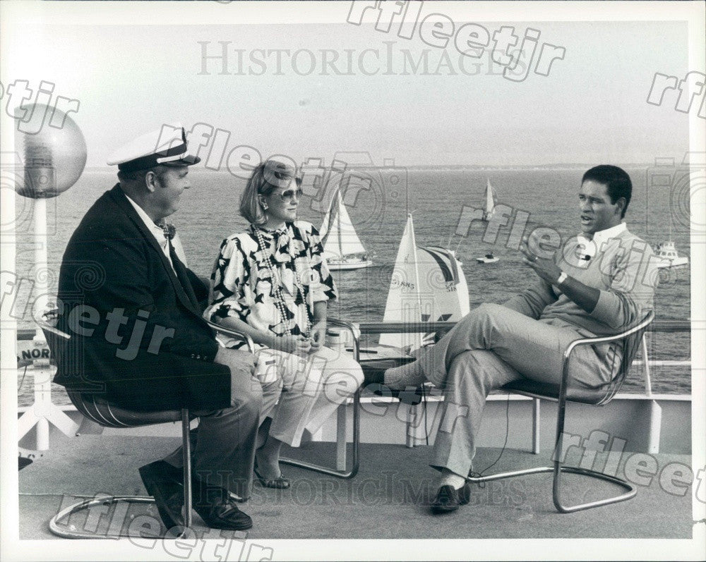 1986 NBC Today Show Anchors Jane Pauley, Bryant Gumbel Press Photo adw1035 - Historic Images